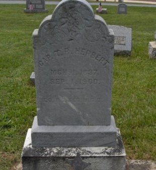 HERBERT (CW), THOMAS R. - York County, Pennsylvania   THOMAS R. HERBERT (CW) - Pennsylvania Gravestone Photos