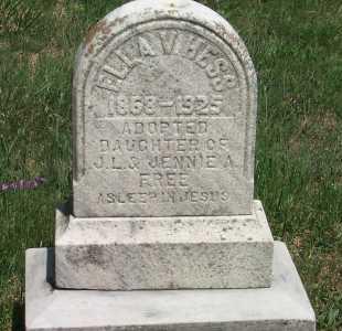 HESS, ELLA V - York County, Pennsylvania | ELLA V HESS - Pennsylvania Gravestone Photos