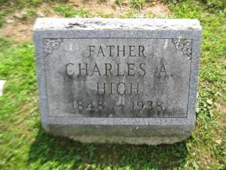 HIGH, CHARLES A. - York County, Pennsylvania | CHARLES A. HIGH - Pennsylvania Gravestone Photos