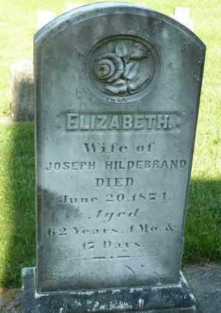 HILDEBRAND, ELIZABETH - York County, Pennsylvania   ELIZABETH HILDEBRAND - Pennsylvania Gravestone Photos