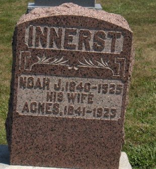 INNERST (CW), NOAH J. - York County, Pennsylvania   NOAH J. INNERST (CW) - Pennsylvania Gravestone Photos