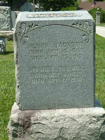 JACKSON, AMANDA - York County, Pennsylvania | AMANDA JACKSON - Pennsylvania Gravestone Photos