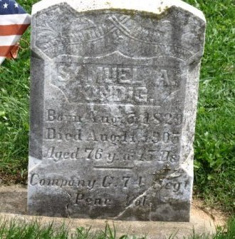 KINDIG (CW), SAMUEL A. - York County, Pennsylvania   SAMUEL A. KINDIG (CW) - Pennsylvania Gravestone Photos