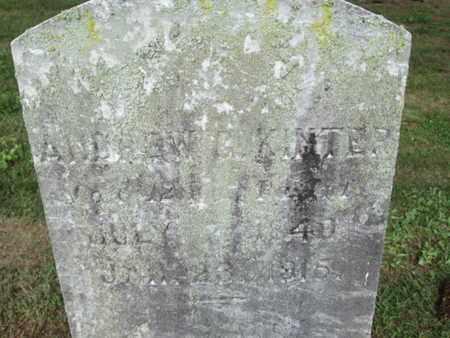 KINTER (CW), ANDREW G. - York County, Pennsylvania | ANDREW G. KINTER (CW) - Pennsylvania Gravestone Photos