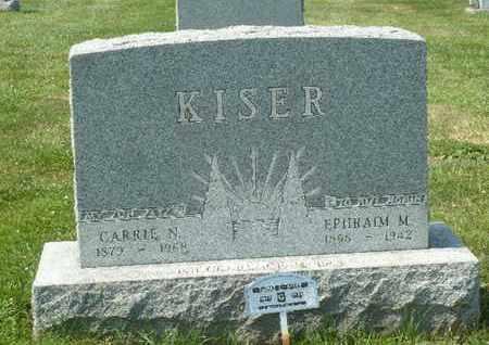 KISER, CLARENCE - York County, Pennsylvania | CLARENCE KISER - Pennsylvania Gravestone Photos