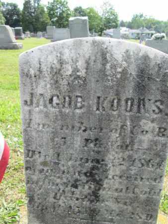 KOONS (CW), JACOB - York County, Pennsylvania | JACOB KOONS (CW) - Pennsylvania Gravestone Photos