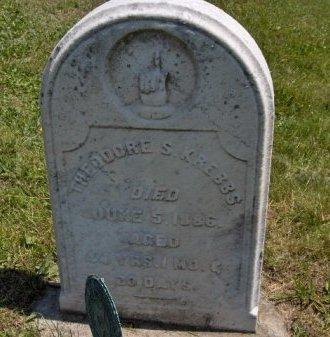 KREBBS (CW), THEODORE S. - York County, Pennsylvania   THEODORE S. KREBBS (CW) - Pennsylvania Gravestone Photos