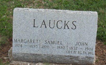 LAUCKS (CW), JOHN - York County, Pennsylvania   JOHN LAUCKS (CW) - Pennsylvania Gravestone Photos