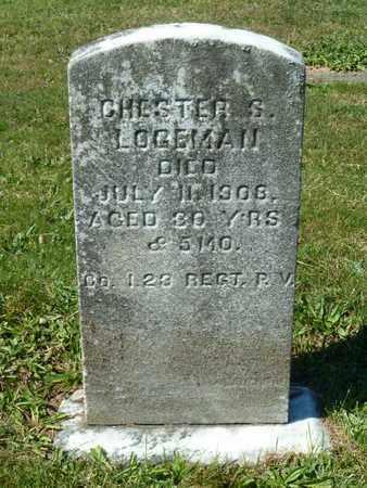 LOGEMAN, CHESTER - York County, Pennsylvania | CHESTER LOGEMAN - Pennsylvania Gravestone Photos