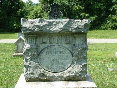 LONG, F. O. ELIZABETH - York County, Pennsylvania | F. O. ELIZABETH LONG - Pennsylvania Gravestone Photos