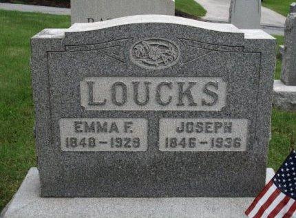 LOUCKS (CW), JOSEPH - York County, Pennsylvania   JOSEPH LOUCKS (CW) - Pennsylvania Gravestone Photos