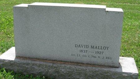 MALLOY (CW), DAVID - York County, Pennsylvania   DAVID MALLOY (CW) - Pennsylvania Gravestone Photos