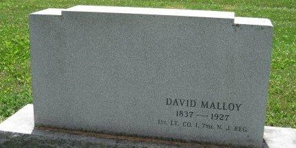 MALLOY, DAVID - York County, Pennsylvania   DAVID MALLOY - Pennsylvania Gravestone Photos