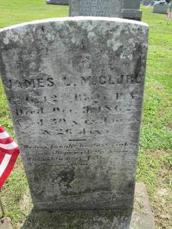 MCCLURE (CW), JAMES L. - York County, Pennsylvania   JAMES L. MCCLURE (CW) - Pennsylvania Gravestone Photos