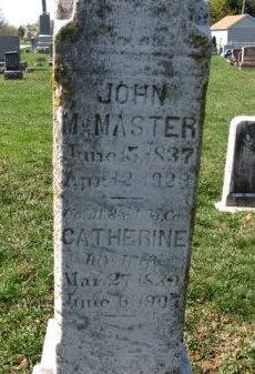 MCMASTER (CW), JOHN - York County, Pennsylvania | JOHN MCMASTER (CW) - Pennsylvania Gravestone Photos