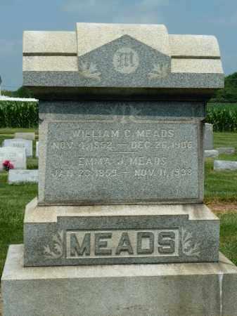MEADS, WILLIAM C. - York County, Pennsylvania | WILLIAM C. MEADS - Pennsylvania Gravestone Photos