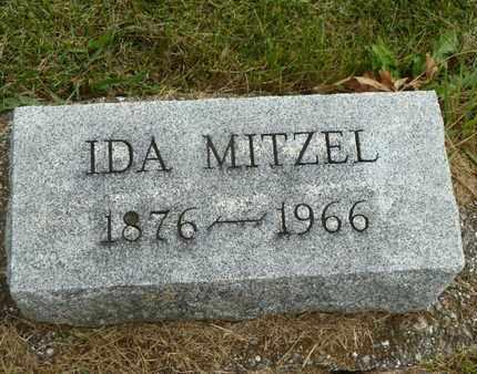 MITZEL, IDA - York County, Pennsylvania | IDA MITZEL - Pennsylvania Gravestone Photos