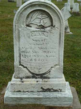 MORRISON, CALVIN - York County, Pennsylvania | CALVIN MORRISON - Pennsylvania Gravestone Photos