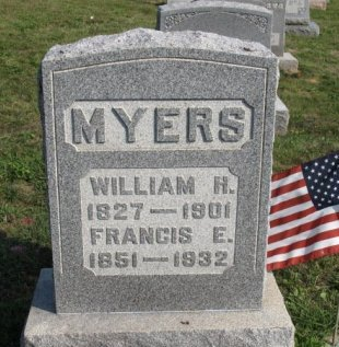 MYERS (CW), WILLIAM H. - York County, Pennsylvania | WILLIAM H. MYERS (CW) - Pennsylvania Gravestone Photos