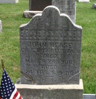 NEASE (CW), JOHN - York County, Pennsylvania | JOHN NEASE (CW) - Pennsylvania Gravestone Photos