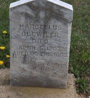 OLEWILER  (CW), MARCELLUS - York County, Pennsylvania | MARCELLUS OLEWILER  (CW) - Pennsylvania Gravestone Photos