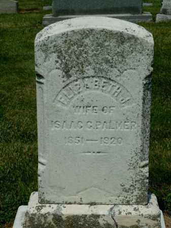 PALMER, ELIZABETH - York County, Pennsylvania | ELIZABETH PALMER - Pennsylvania Gravestone Photos