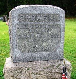 PROWELL (CW), JOSEPH M. - York County, Pennsylvania | JOSEPH M. PROWELL (CW) - Pennsylvania Gravestone Photos