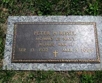 RISSER, PETER H. - York County, Pennsylvania | PETER H. RISSER - Pennsylvania Gravestone Photos