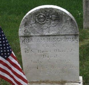 SCHROLL (CW), WILLIAM H. - York County, Pennsylvania   WILLIAM H. SCHROLL (CW) - Pennsylvania Gravestone Photos