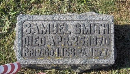 SMITH (CW), SAMUEL - York County, Pennsylvania | SAMUEL SMITH (CW) - Pennsylvania Gravestone Photos