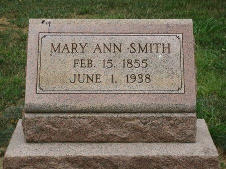 SMITH, MARY ANN - York County, Pennsylvania | MARY ANN SMITH - Pennsylvania Gravestone Photos
