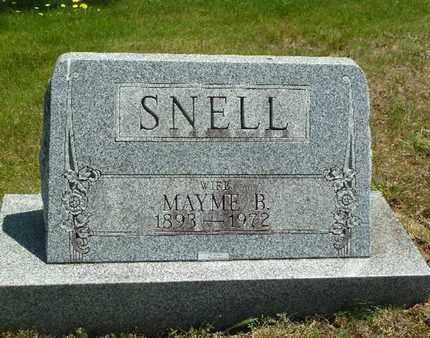 SNELL, MAYME B. - York County, Pennsylvania | MAYME B. SNELL - Pennsylvania Gravestone Photos