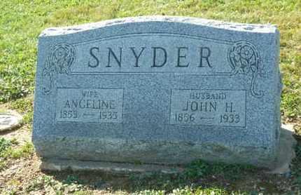 SNYDER, JOHN H. - York County, Pennsylvania | JOHN H. SNYDER - Pennsylvania Gravestone Photos