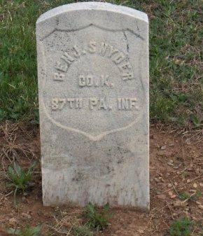 SNYDER (CW), BENJAMIN - York County, Pennsylvania   BENJAMIN SNYDER (CW) - Pennsylvania Gravestone Photos