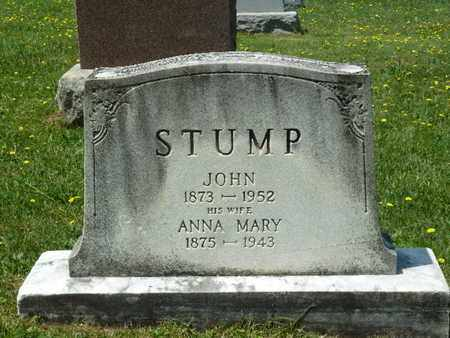 STUMP, ANNA MARY - York County, Pennsylvania | ANNA MARY STUMP - Pennsylvania Gravestone Photos