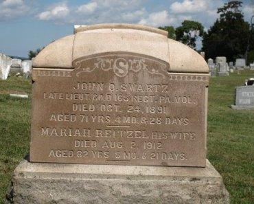 SWARTZ (CW), JOHN Q. - York County, Pennsylvania | JOHN Q. SWARTZ (CW) - Pennsylvania Gravestone Photos