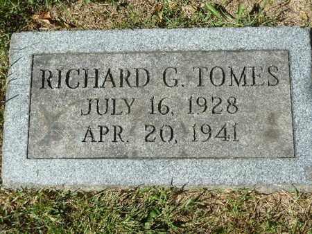 TOMES, RICHARD G. - York County, Pennsylvania   RICHARD G. TOMES - Pennsylvania Gravestone Photos