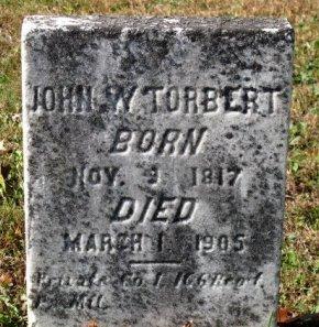 TORBERT (CW), JOHN W. - York County, Pennsylvania | JOHN W. TORBERT (CW) - Pennsylvania Gravestone Photos