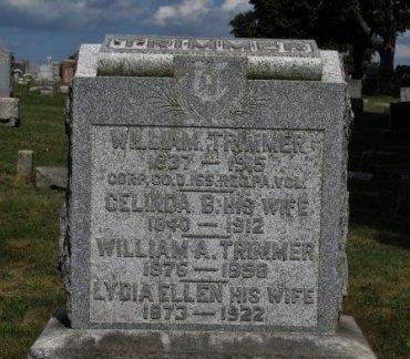 TRIMMER (CW), WILLIAM - York County, Pennsylvania | WILLIAM TRIMMER (CW) - Pennsylvania Gravestone Photos