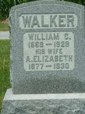 WALKER, WILLIAM C. - York County, Pennsylvania | WILLIAM C. WALKER - Pennsylvania Gravestone Photos