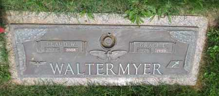 WALTERMYER, CLAUD W - York County, Pennsylvania | CLAUD W WALTERMYER - Pennsylvania Gravestone Photos