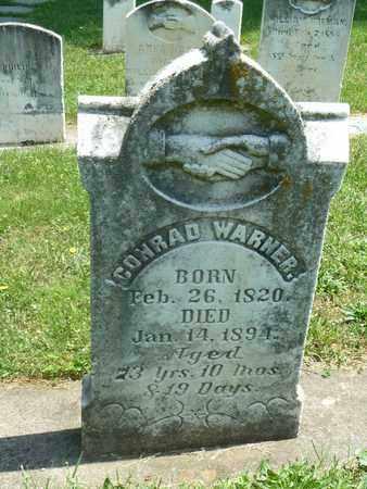 WARNER, CONRAD - York County, Pennsylvania | CONRAD WARNER - Pennsylvania Gravestone Photos