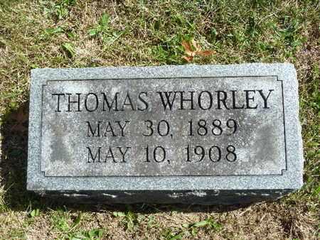 WHORLEY, THOMAS - York County, Pennsylvania | THOMAS WHORLEY - Pennsylvania Gravestone Photos