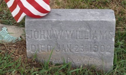 WILLIAMS (CW), JOHN - York County, Pennsylvania | JOHN WILLIAMS (CW) - Pennsylvania Gravestone Photos