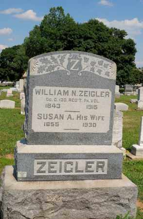 ZIEGLER (CW), WILLIAM N. - York County, Pennsylvania | WILLIAM N. ZIEGLER (CW) - Pennsylvania Gravestone Photos