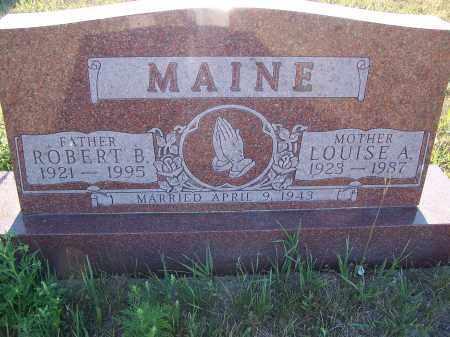 MAINE, ROBERT B - Aurora County, South Dakota | ROBERT B MAINE - South Dakota Gravestone Photos