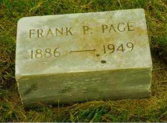 PAGE, FRANK PETER - Aurora County, South Dakota | FRANK PETER PAGE - South Dakota Gravestone Photos