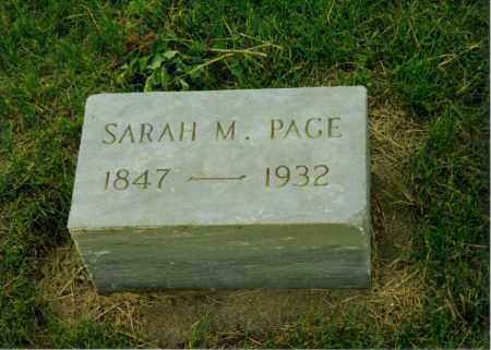 BREINER PAGE, SARAH MARGARET - Aurora County, South Dakota | SARAH MARGARET BREINER PAGE - South Dakota Gravestone Photos