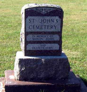 *ST. JOHNS, CEMETERY - Aurora County, South Dakota | CEMETERY *ST. JOHNS - South Dakota Gravestone Photos