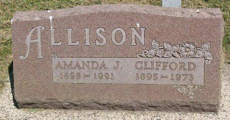 ALLISON, CLIFFORD - Beadle County, South Dakota | CLIFFORD ALLISON - South Dakota Gravestone Photos